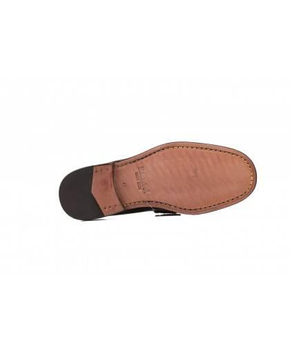 Mocasin para hombre en color negro Caracteristicas sin Cordones altura de piso 2 cm piso basica exterior piel e interior forro