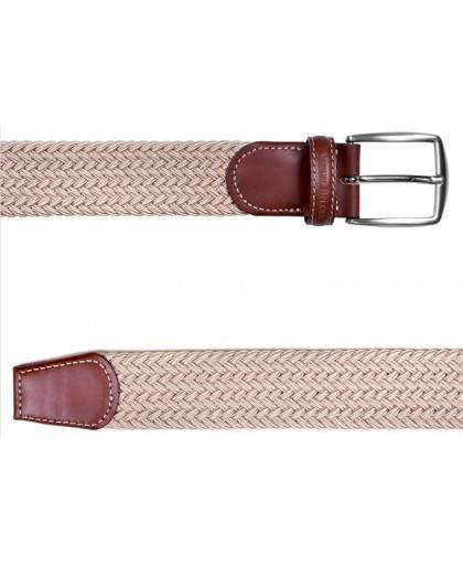 Cinturon para hombre en color beige Caracteristicas Not assigned zapato de estilo casual suela exterior elastico e interior sin