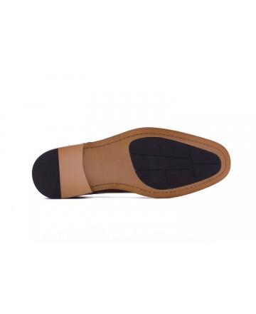 Hobbs MB51802 Men's Casual Brown Shoes
