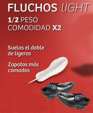 Zapatos Derby Fluchos Coloso negros 9834