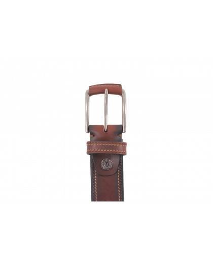 Cinturon para hombre en color cuero Caracteristicas Not assigned zapato de estilo casual suela exterior piel e interior piel
