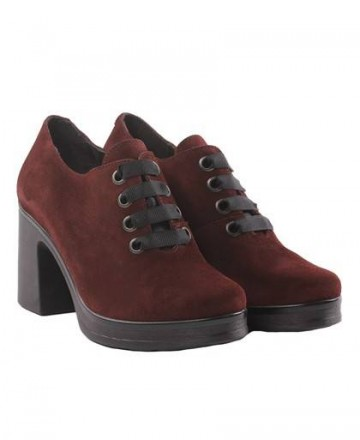 Suede shoes Catchalot 2102 Bordeaux