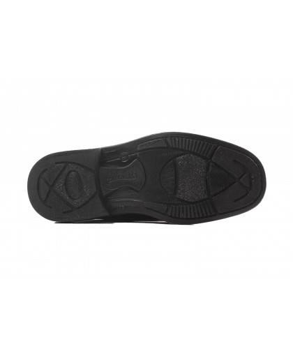 Zapatos para hombre en color negro Caracteristicas con cordones altura de piso 25 cm piso exterior piel e interior Not assigned