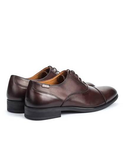 Zapatos para hombre en color marron Caracteristicas con cordones tacon 3 cm zapato de vestir suela de goma termoplastica exteri