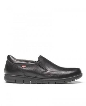 Zapatos sin cordones On Foot 8903 negro