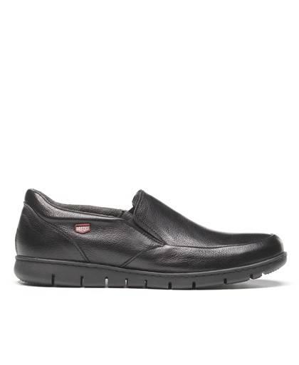 Zapatos para hombre en color negro Caracteristicas elastico altura de piso 2 cm zapato de estilo casual suela de goma termoplas