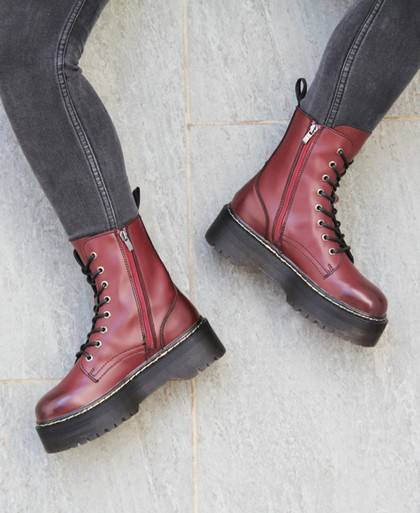 buy online Coolway Abby burgundy ankle boots