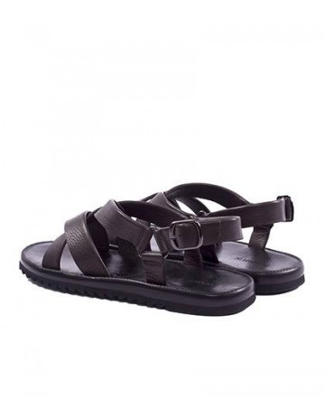 Catchalot Hobbs Men's Leather Color Roman Sandals M171KD451-06A