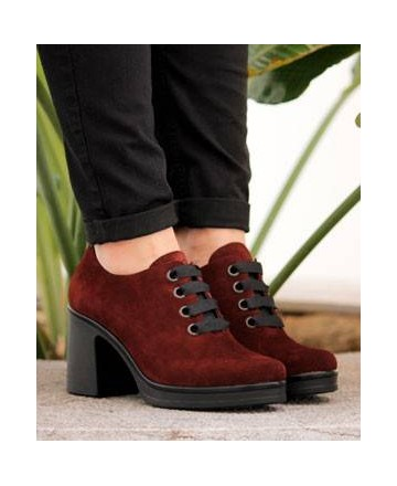 Catchalot Suede shoes Catchalot 2102 Bordeaux