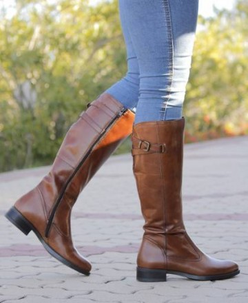 Catchalot Catchalot 2437 leather leather boots