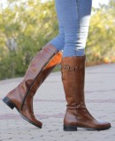 Catchalot 2437 leather leather boots