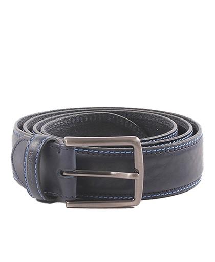 Cinturon para hombre en color azul marino Caracteristicas Not assigned zapato de estilo casual suela exterior piel e interior N
