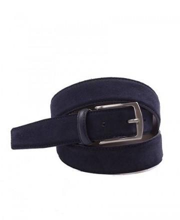 Cinturón serraje Bellido 835-35 Azul