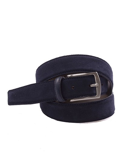 Bellido 835-35 Blue Split Leather Belt
