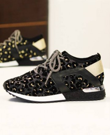 Sneaker de leopardo La Strada 1800780