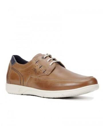 Zapatos con cordones Fluchos Sumatra 0108 cuero