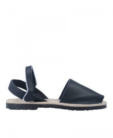 Catchalot Navy blue Menorcan sandals Catchalot Castell