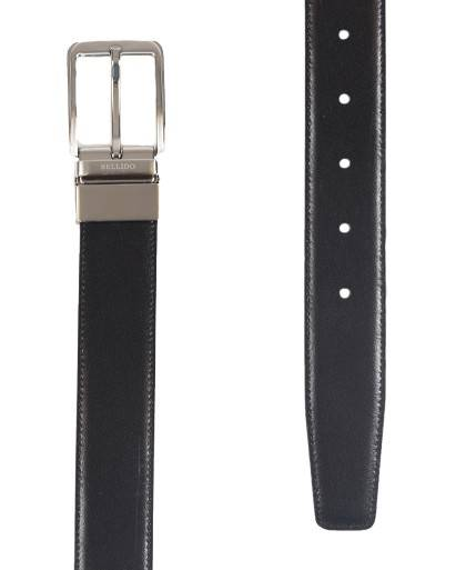Cinturon para hombre en color marino negro Caracteristicas Not assigned zapato de estilo casual suela exterior piel e interior