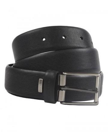 Engraved belt Miguel Bellido 410/32 Black