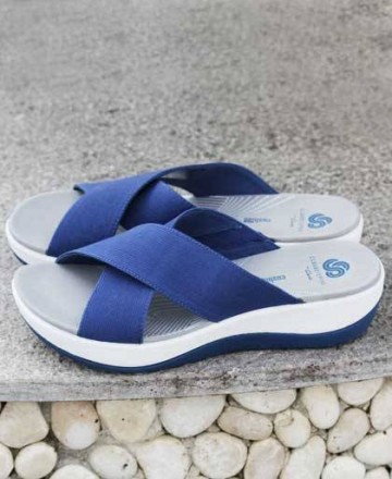 Sandalias azules Clarks Arla Elin 26140981