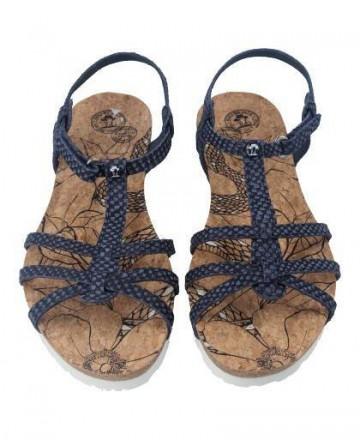 Sandalia de tiras Panama Jack Dori Snake