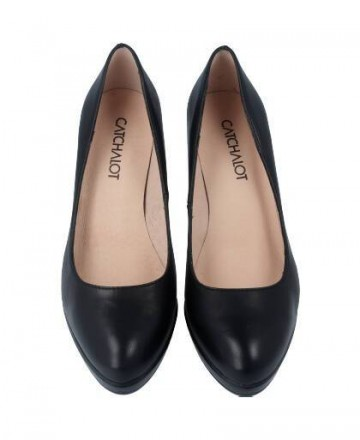 Patricia Miller 1000 black court shoes