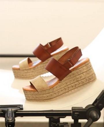 Sandals wedge Tambi Klin