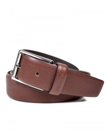 Miguel Bellido 410/32 Brown Leather Belt