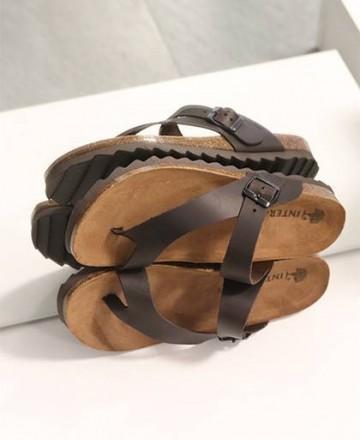 Inter-Bios Sierra 9511 Men's Thong Sandals