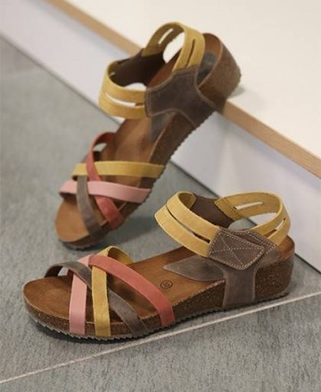 Catchalot Inter-Bios leather sandal 5338
