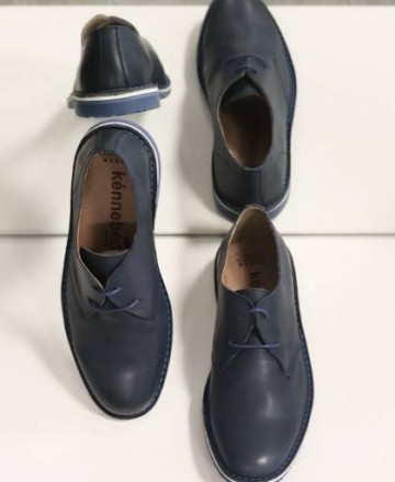 Zapatos cordones Kennebec 5401 azul marino