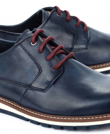 Zapatos planos Pikolinos Berna M8J-4314 azul marino