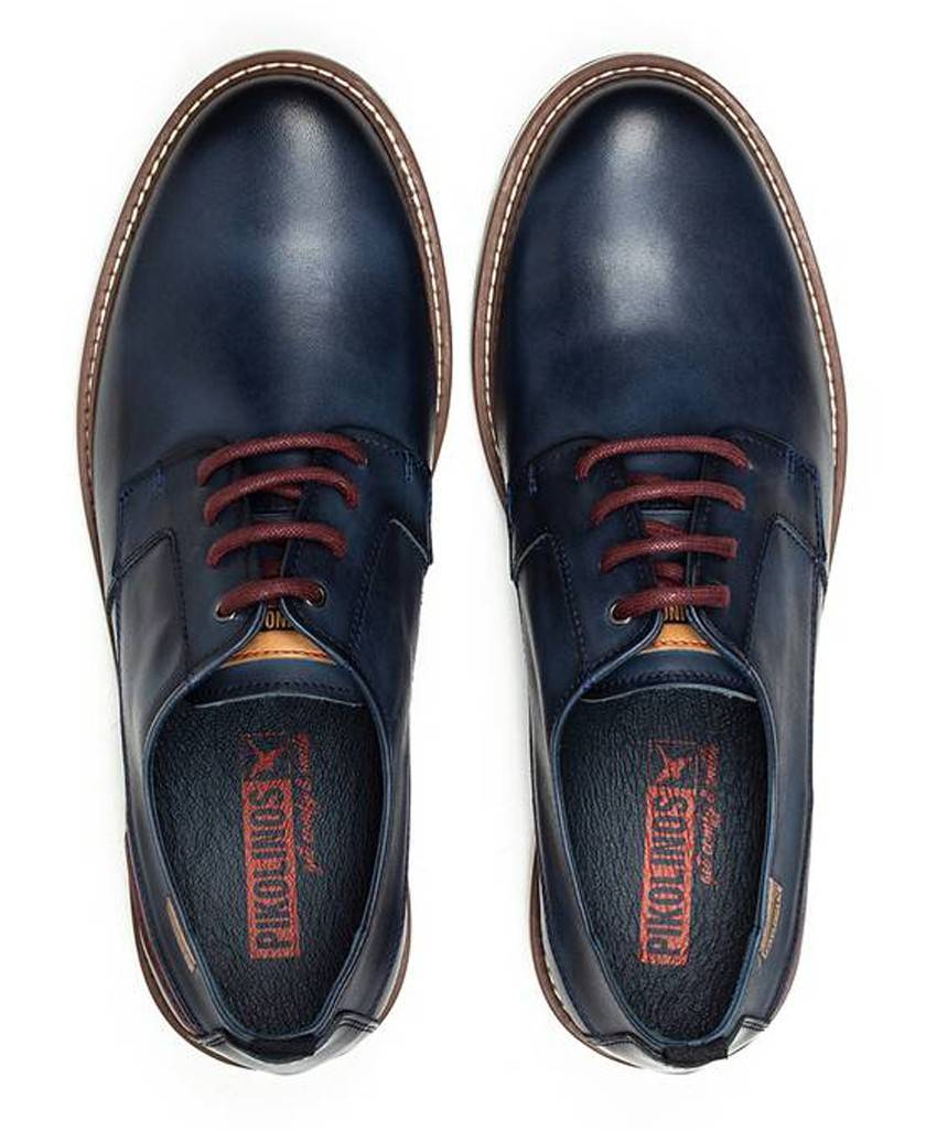 Pikolinos Berna comfortable shoes M8J-4314 navy blue