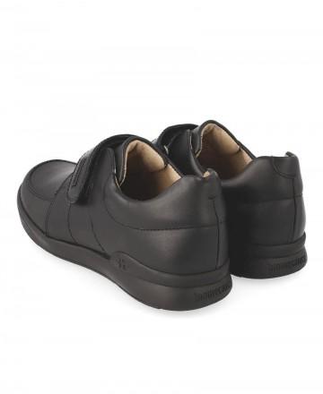 Zapato colegial Biomecanics 181125 azul marino
