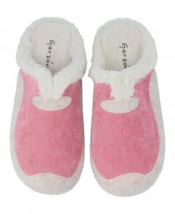Garzon  7450.236 pink house slippers