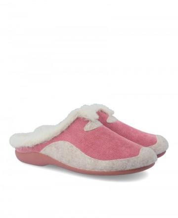 Zapatillas de casa Garzon 7450.236 rosa