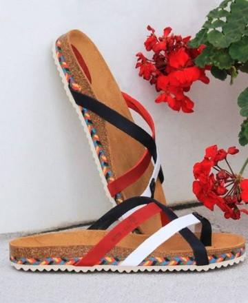 Inter-Bios strap sandal 7113-C