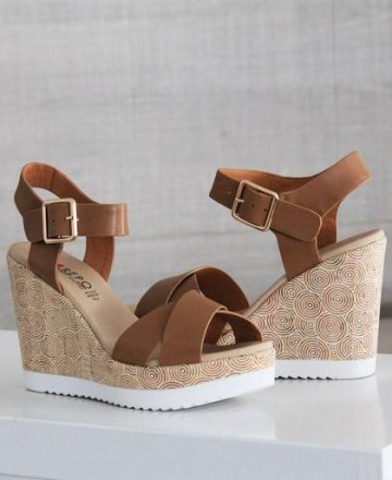 Catchalot Cork platform sandals Repo Phil Gatiér 52218