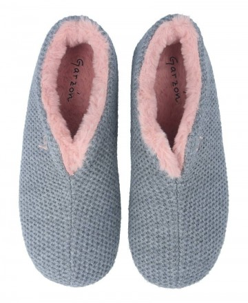 Catchalot Garzon 5821.291 gray closed house flat slippers
