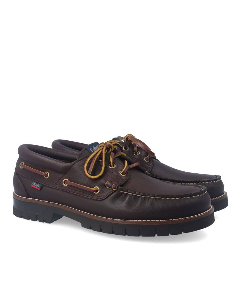 Callaghan Freeport 12500 boat shoes brown