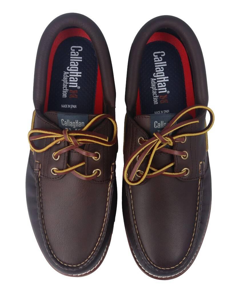 Zapatos de para hombre en color marron Caracteristicas con cordones altura de piso 3 cm piso extra light exterior piel e interi