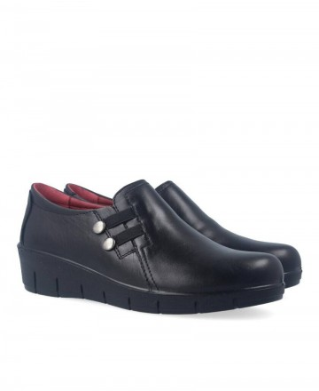 Luisetti 17103 black casual shoes