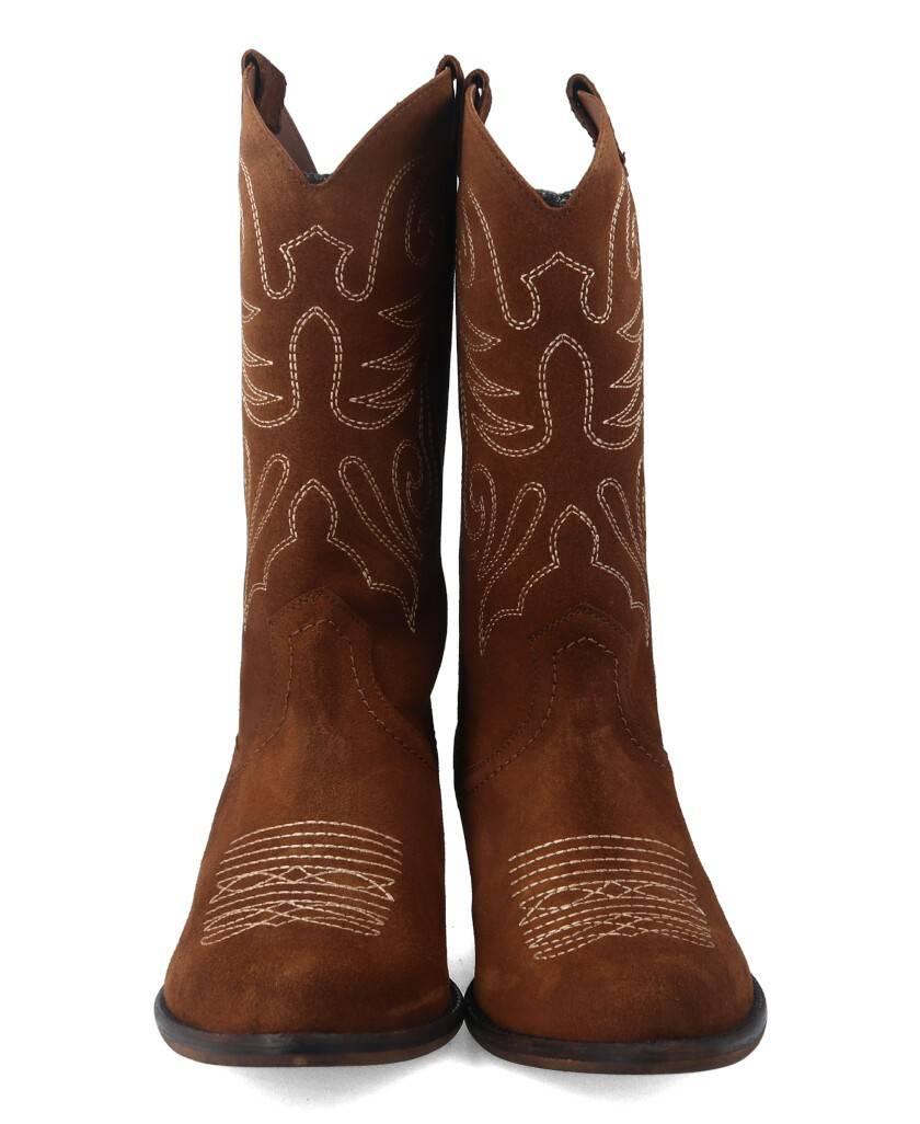 Botas para mujer en color cuero Caracteristicas sin cierre tacon 4 cm zapato de estilo casual suela de goma termoplastica exter