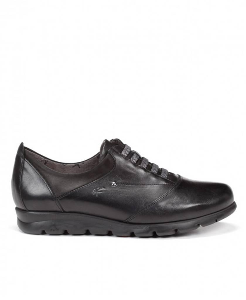 Zapatos cómodos negros Fluchos Susan F0354