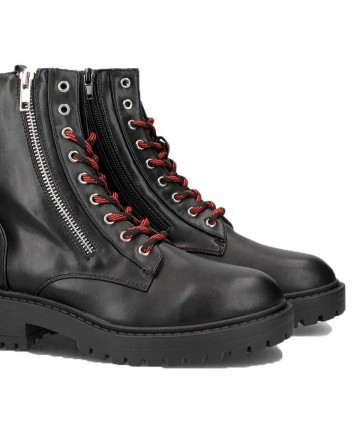 Coolway Alma Black Ankle Boots