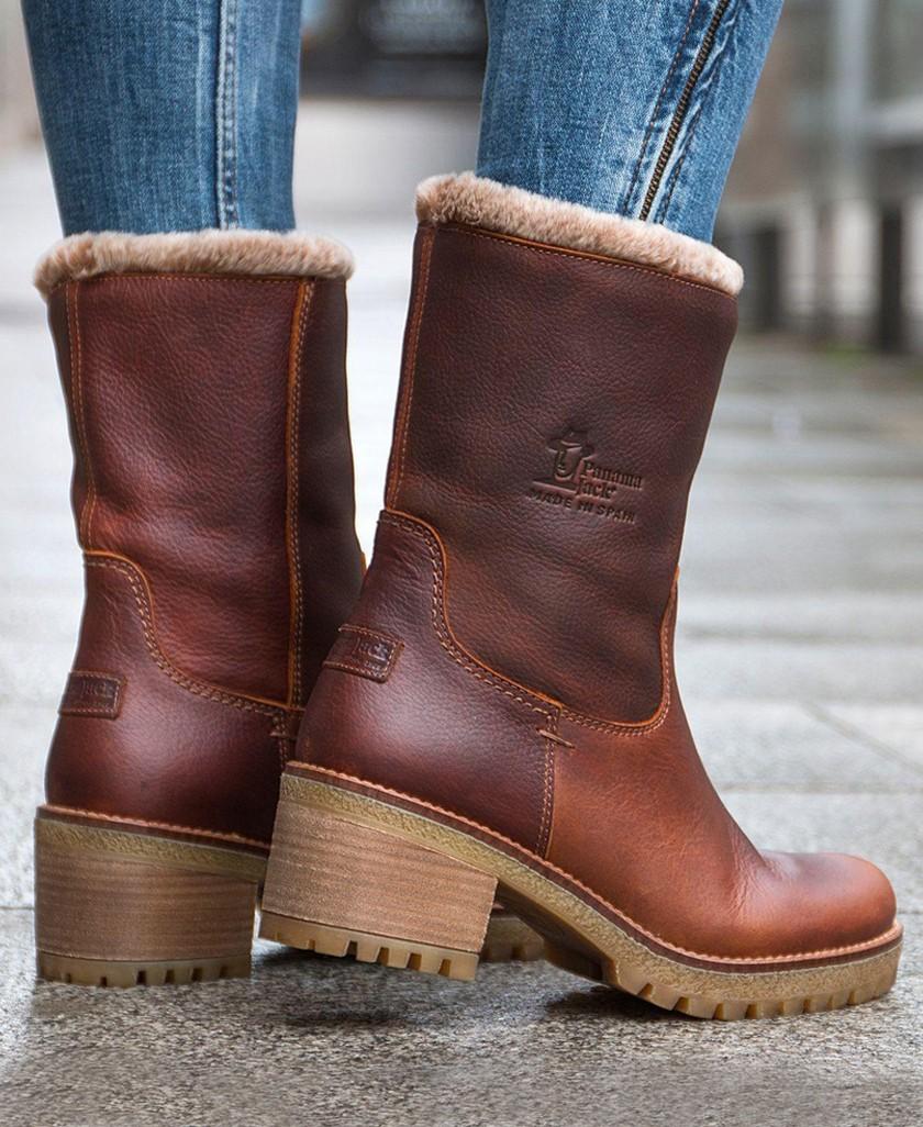 Botas de piel Panama Jack Piola B8