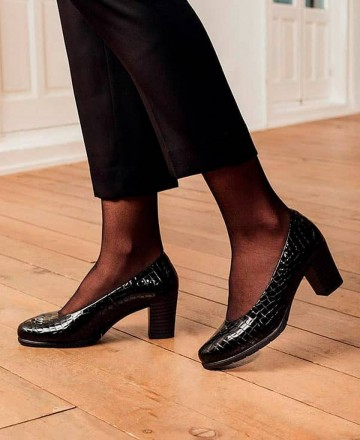 Catchalot Pitillos 5761 black lounge shoes