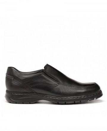 Fluchos Crono Salvate 9144 black slip-on shoes