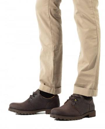 Catchalot Zapatos de piel Panama Jack 02 C2 marrón