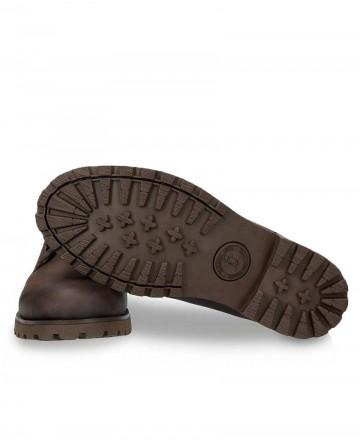 Zapatos de piel Panama Jack 02 C2 marrón
